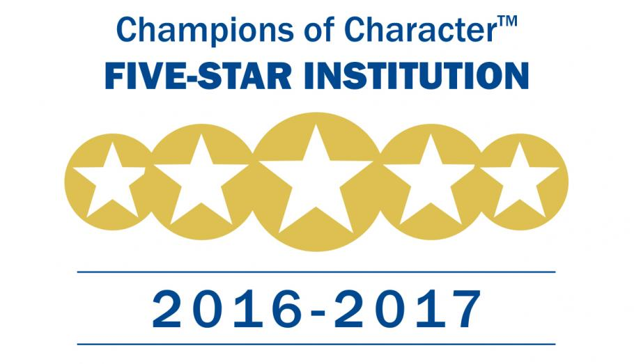 IU Southeast Achieves NAIA Champions of Character Five Star Gold Level Status