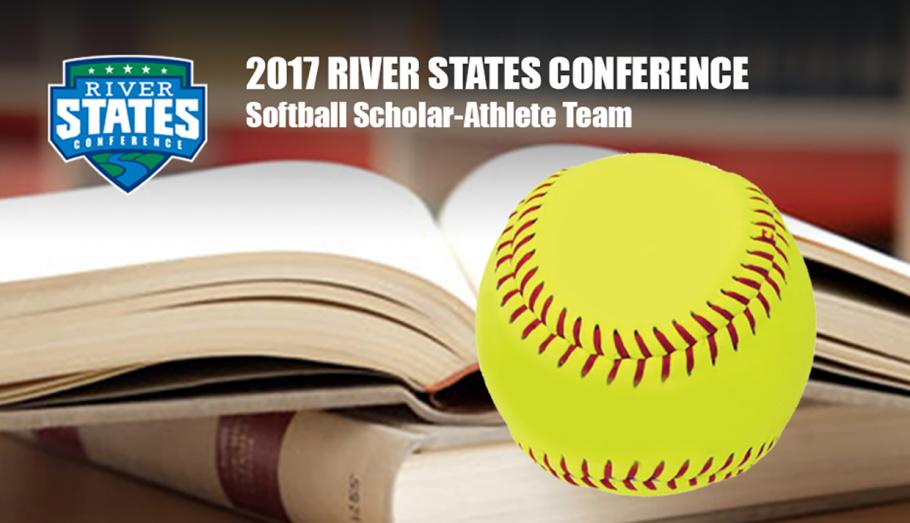 Three Grenadiers Named RSC Softball Scholar Athletes